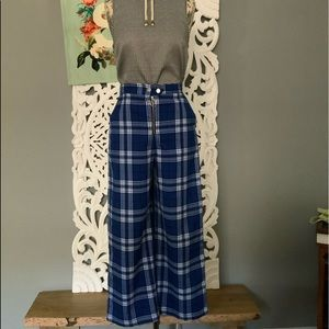 Urban Outfitters | 90's wide plaid leg pants 2